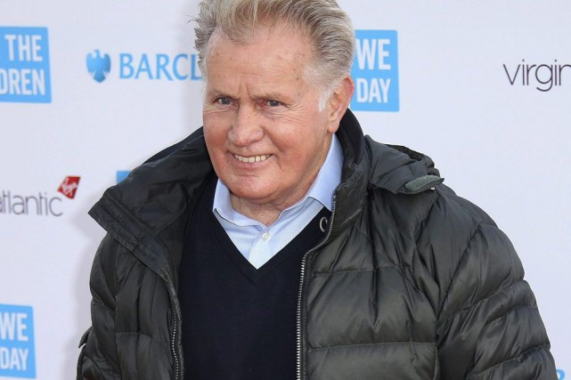 Martin Sheen... (Photo Joel Ryan, archives PC)