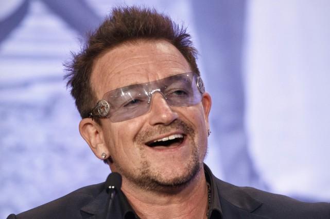 Bono... (Photo: archives AP)