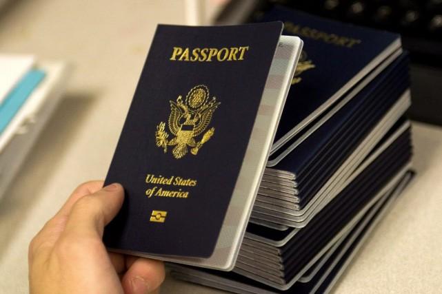 L'émission de passeports américains aux États-Unis n'est pas... (PHOTO PAUL J. RICHARDS, AFP)