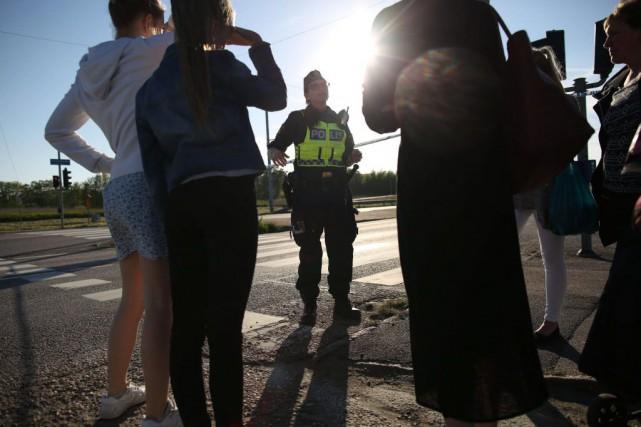 Un porte-parole des secours, Bosse Andersson, a affirmé... (Photo AFP)