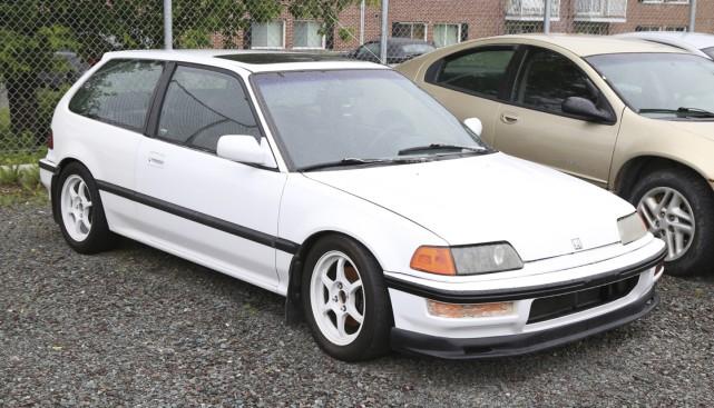 Une voiture Honda Civic volée en 2001 a... (Photo Janick Marois)