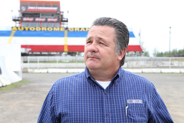 Brad Moran, directeur des séries Touring de NASCAR.... (Janick Marois)