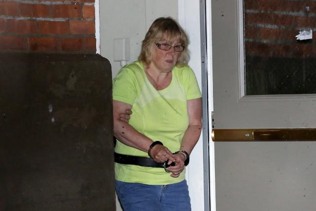 Joyce Mitchell, une couturière de 51 ans, est... (Photo Chris Wattie, Reuters)