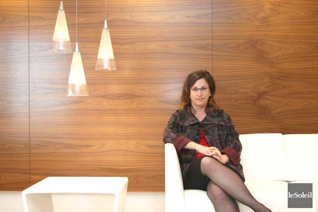 Marie-Claude Frigon, associée et spécialiste en vente au... (Photothèque Le Soleil)