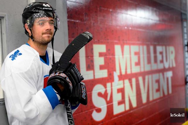 Marc-Édouard Vlasic et d'autres joueurs de la LNH... (Photo Le Soleil, Erick Labbé)