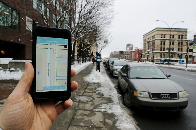 L'application Info Neigea été grandement améliorée depuis l'hiver... (PHOTO MARTIN CHAMBERLAND, ARCHIVES LA PRESSE)