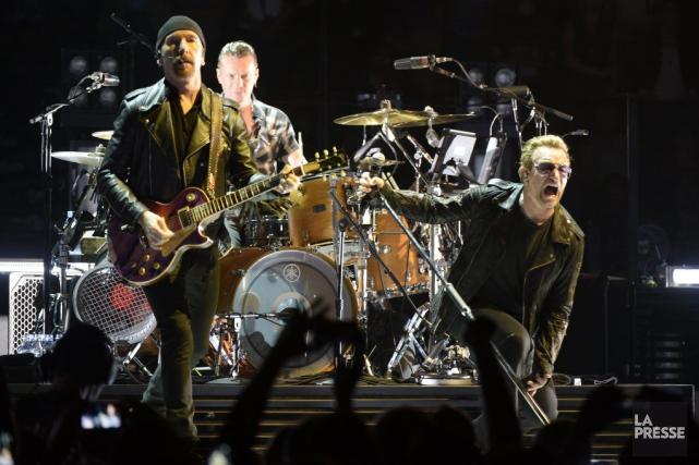 U2 à Montréal... (Photo Bernard Brault, La Presse)