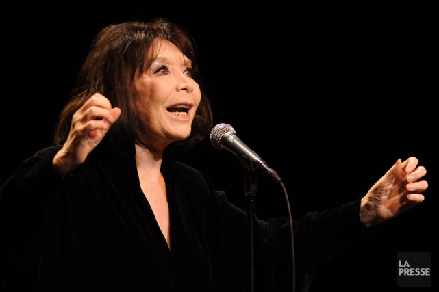 Juliette Gréco... (PHOTO ARCHIVES LA PRESSE)