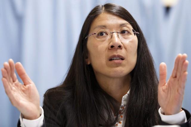 Joanne Liu, présidente de Médecins sans frontières.... (Photo Salvatore Di Nolfi, Archives AP/Keystone)