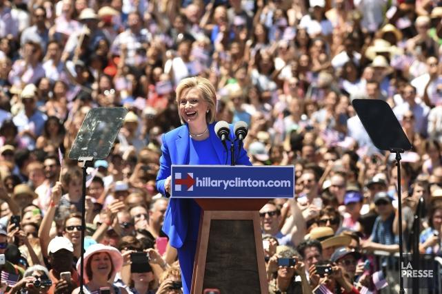 Une foule de démocrates enthousiastes - et quelque... (Agence France-Presse)