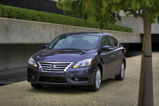 La Nissan Sentra SV 2015... (PHOTO FOURNIE PAR NISSAN)