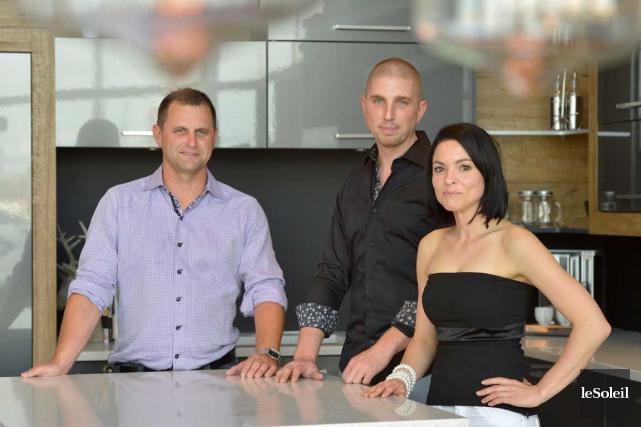 Les trois associés derrière Construction Dépôt Signature, Martin... (Le Soleil, Yan Doublet)