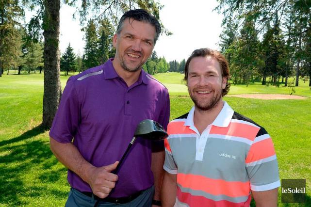 David Desharnais (à droite) aurait préféré disputer la... (Le Soleil, Erick Labbé)
