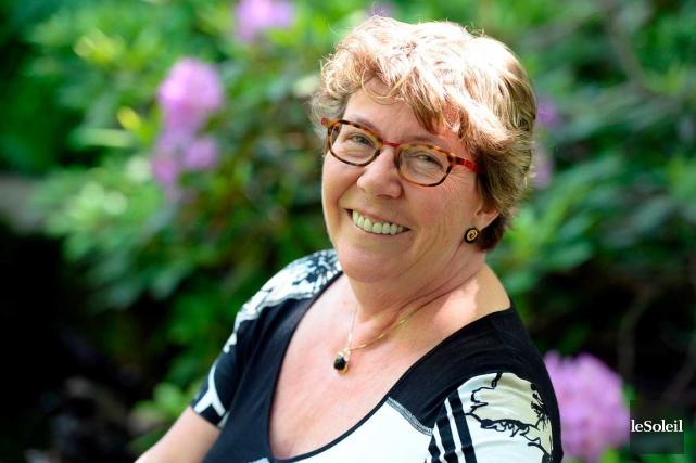 La Dre Carole Ratté a soigné des jeunes... (Le Soleil, Erick Labbé)