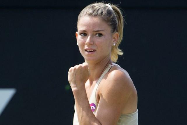 Camila Giorgiavait perdu ses trois finales disputées avant... (PHOTO ERMINDO ARMINO, AP)
