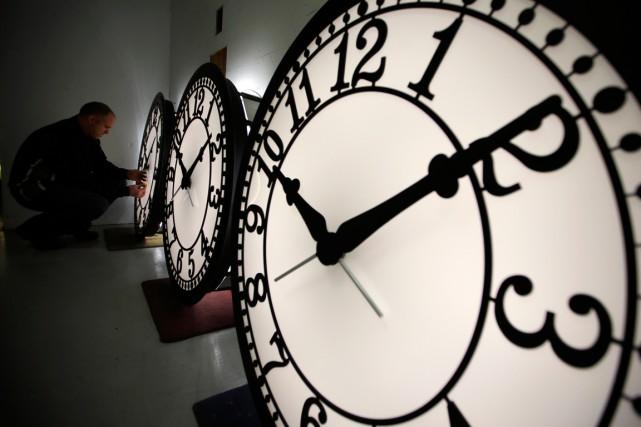 Le dernier ajout d'une seconde intercalaire le 30... (PHOTO BRIAN SNYDER, ARCHIVES REUTERS)