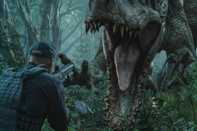 Jurassic Worldest en tête du box-office dans 66... (Photo: fournie par Universal Pictures)