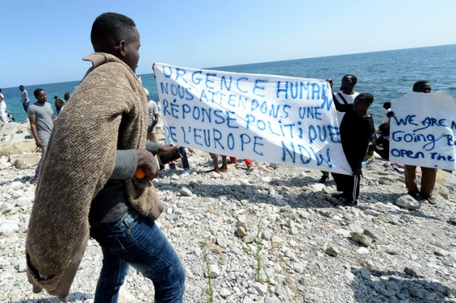 Plus de 57 000 migrants et demandeurs d'asile... (Photo: AP)
