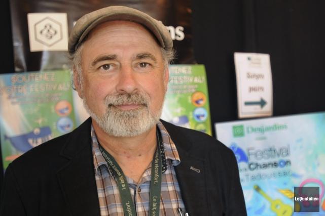 Le directeur général du Festival de la chanson... ((Photo Le Quotidien, Michel Tremblay))