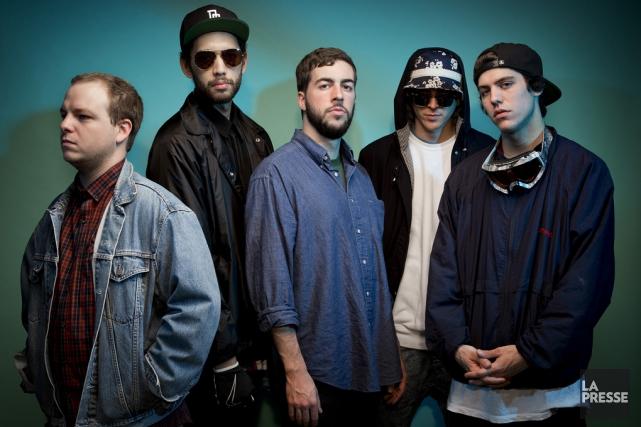 Le groupe rap Dead Obies n'a jamais vraiment quitté le paysage musical... (PHOTO ARCHIVES LA PRESSE)