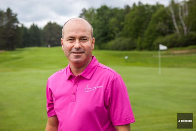 Guy Lefebvre, directeur général du Club de golf... (Photo: Olivier Croteau, Le Nouvelliste)