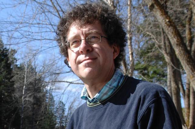 L'écrivain Joël Champetier, décédé le 30 mai....