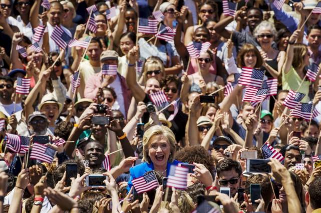 La candidate à l'investiture démocrate en vue de... (PHOTO LUCAS JACKSON, REUTERS)