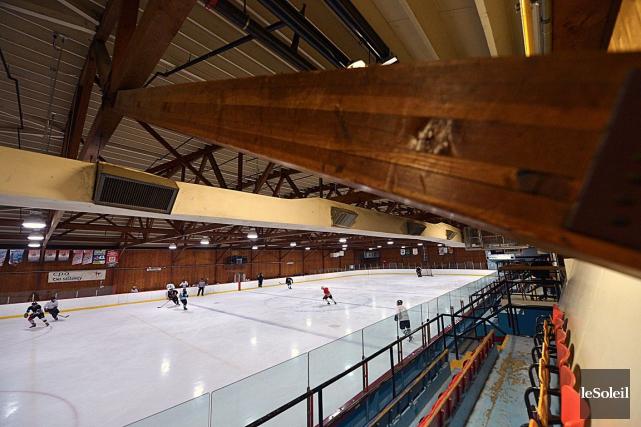 L'arena Jacques-Côté de Sillery pourrait fermer.... (Photo Le Soleil, Yan Doublet)