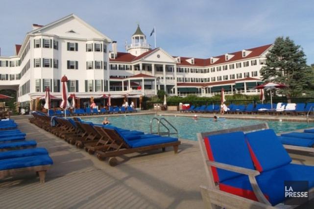 L'hôtel Colony, qui a longtemps été le rendez-vous... (PHOTO MICHEL MAROIS, LA PRESSE)
