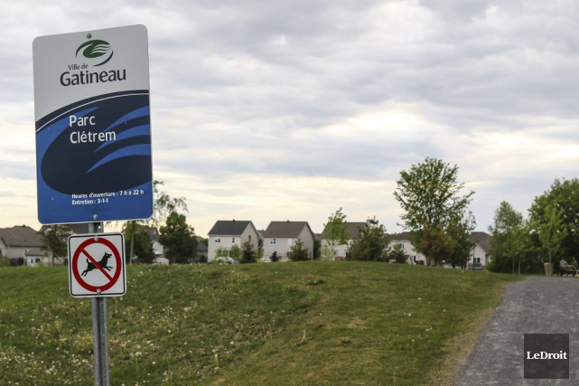 Le secteur Aylmer perd une partie du parc Clétrem en faveur d'une école: qu'en... (Patrick Woodbury, LeDroit)