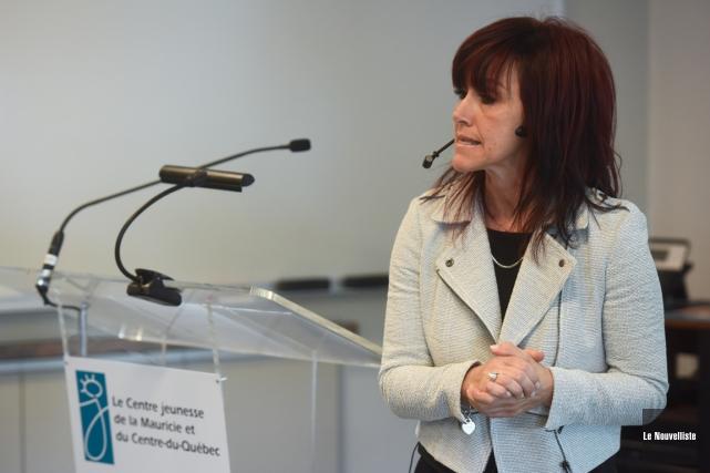 Gina Landry, directrice de la Direction de la... (Photo: François Gervais, Le Nouvelliste)