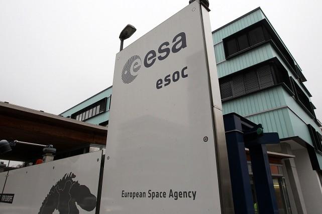 L'objectif de la mission de l'Agence spatiale européenne... (PHOTO DANIEL ROLAND, AFP)