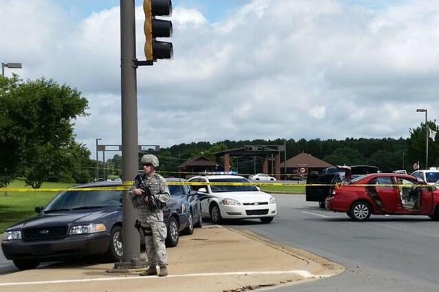 Le FBI s'est rendu sur les lieux de... (PHOTO BREAKING911.COM)