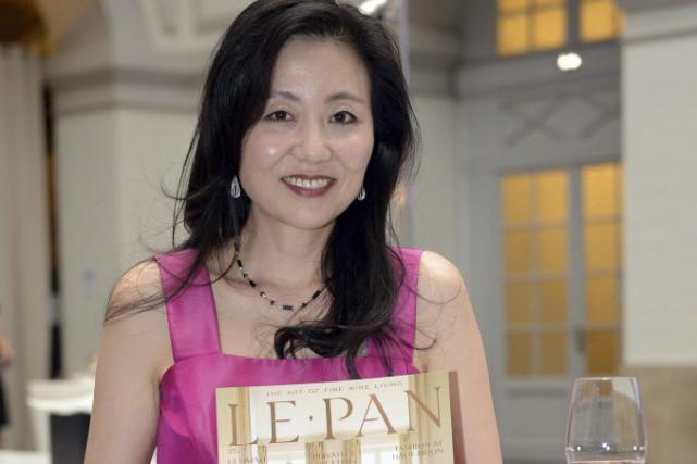 La présidente-fondatrice deLe Pan, Jeannie Cho Lee... (PHOTO JEAN-PIERRE MULLER, AFP)