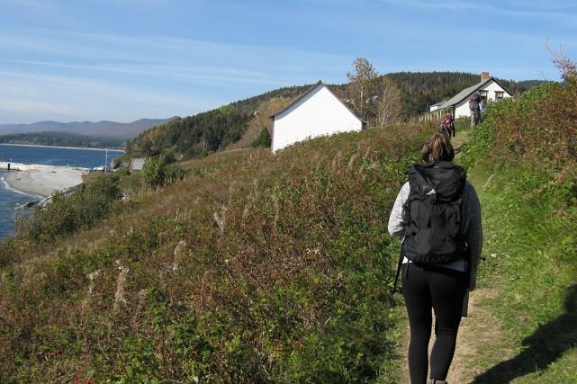 La campagne de promotion de Tourisme Gaspésie vantera... (Collaboration spéciale Geneviève Gélinas)