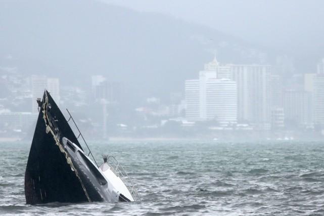La tempête tropicale Carlos s'est transformée lundi en ouragan au... (Photo: AFP)