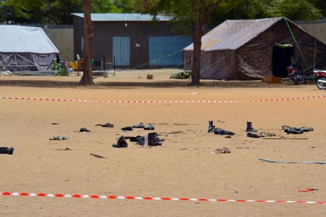 Les deux attaques ont visé le commissariat central... (Photo: AFP)