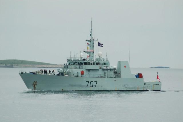 Le navire canadien de Sa Majesté (NCSM) Goose... ((Courtoisie))