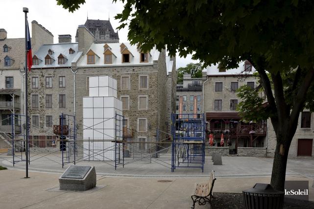 Québec avait mandaté l'an dernier le Centre de... (Le Soleil, Patrice Laroche)