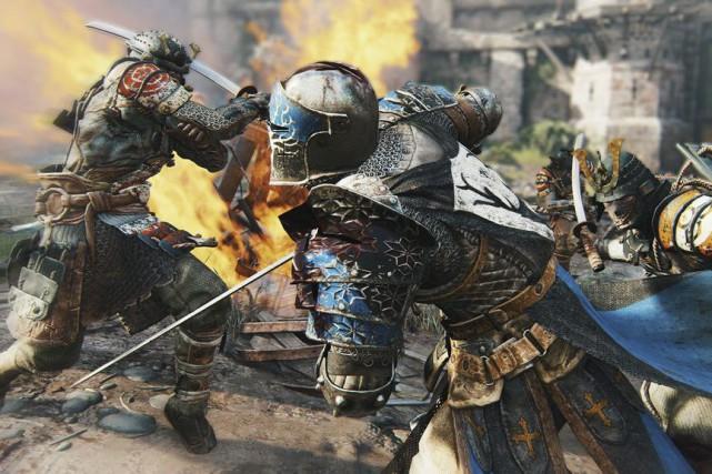 Le coeur du nouveau jeu d'Ubisoft For Honorrepose... (Photo fournie par Ubisoft)