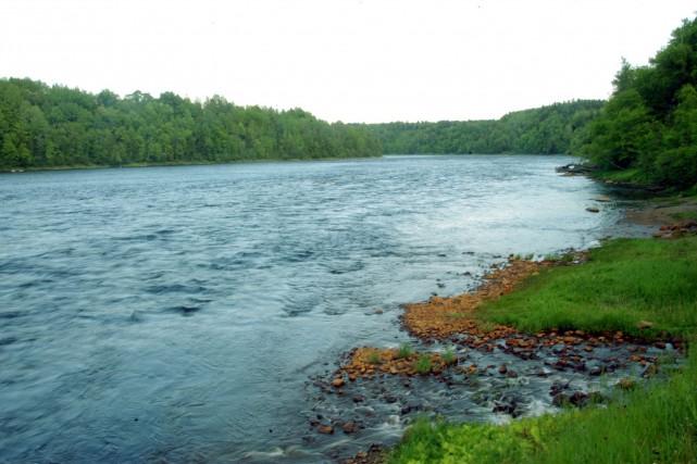 Le rapide des Forges, sur la rivière Saint-Maurice.... (Photo: Stéphane Lessard)