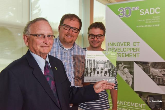 Michel Adam, président du comité d'investissement de la... (Photo: François Gervais, Le Nouvelliste)