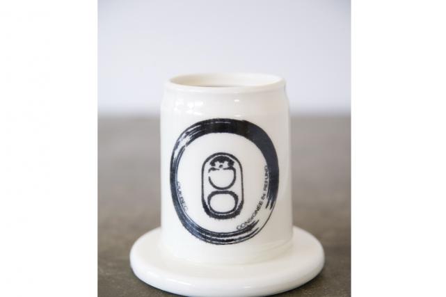 Canette en porcelaine du céramiste Hugo Didier... (PHOTO FOURNIE PAR HUGO DIDIER)