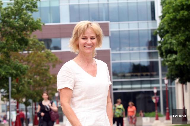 Mariette Mulaire est présidente-directrice générale du World Trade... (Étienne Ranger, LeDroit)
