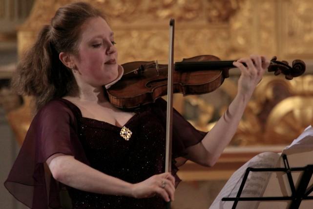 Rachel Barton Pine, de retour ce soir.... (PHOTO BAPTISTE GRISON, FESTIVAL DE LANAUDIÈRE)