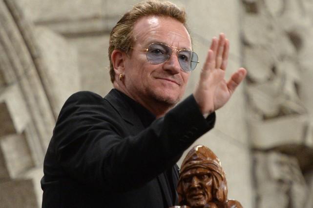 Bono... (Photo PC)