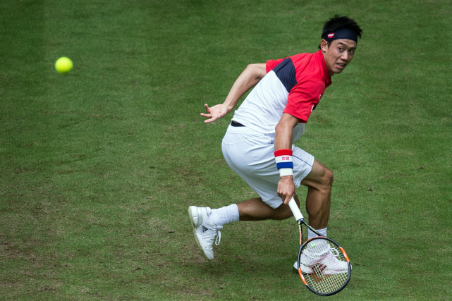 Kei Nishikori... (Photo Mata Hitji, AFP)