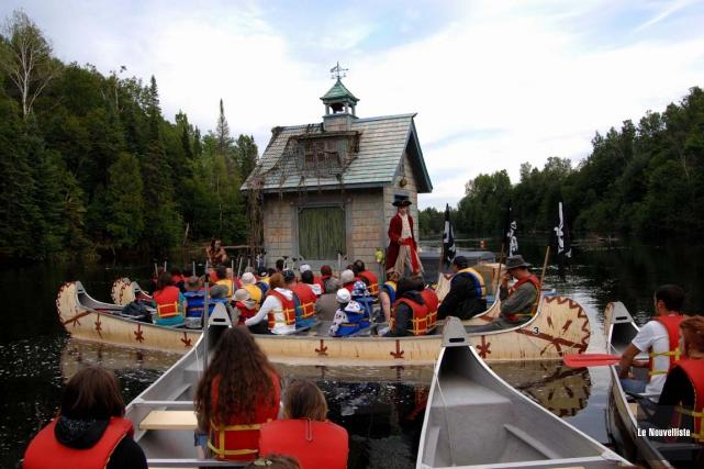L'expérience du théâtre en rivière est de retour... (Photo: Archives, Le Nouvelliste)