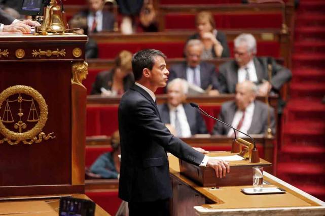 Le premier ministre français Manuel Valls.... (PHOTO CHARLES PLATIAU, REUTERS)