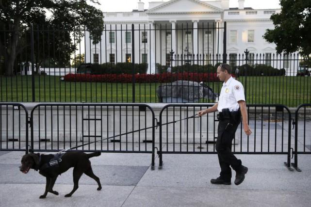 Omar Gonzalez avait plaidé coupable en mars d'«intrusion... (Photo Carolyn Kaster, archives AP)